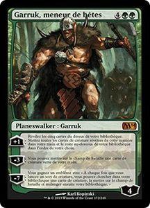 Garruk, meneur de bêtes - Carte Magic the Gathering