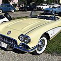 Chevrolet corvette c1-1958