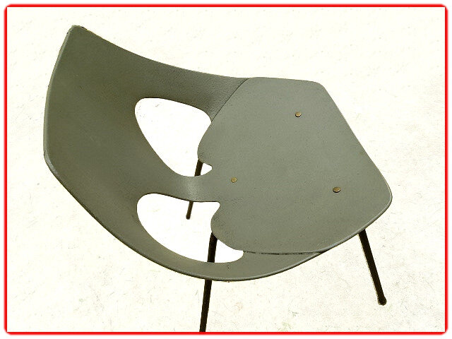 Chaise vintage Airborne Carl Jacobs 1950