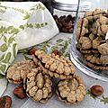 Biscuits à la noisette fourrés au chocolat3