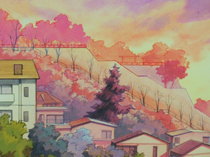 Canalblog Japon Anime Kimagure Orange Road Décors Ville Episode45 01
