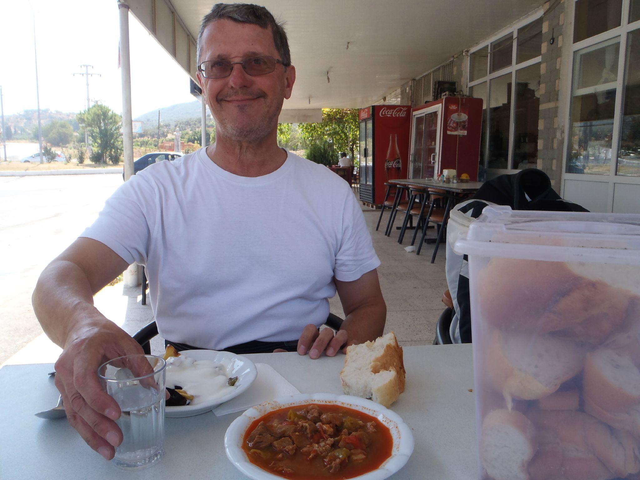turquie : dejeuner dans un routier