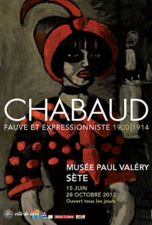 Juin 2012- Affiche expo Chabaud