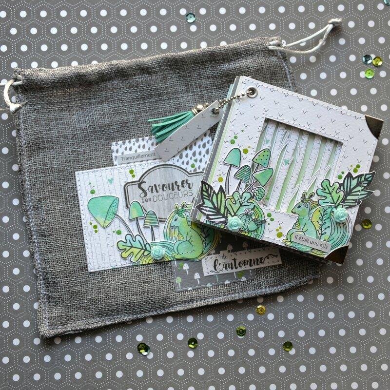 mini timéo-automne-pochon lin et mini-claire-scrapathome-Chou&Flowers