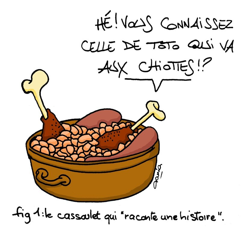 la minute cassoulet