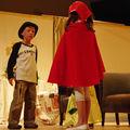 Charlot et le petit chaperon rouge