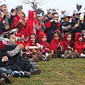 Le 1er carnaval de manon à l'école!