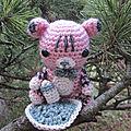 Test crochet - bébé tigre...