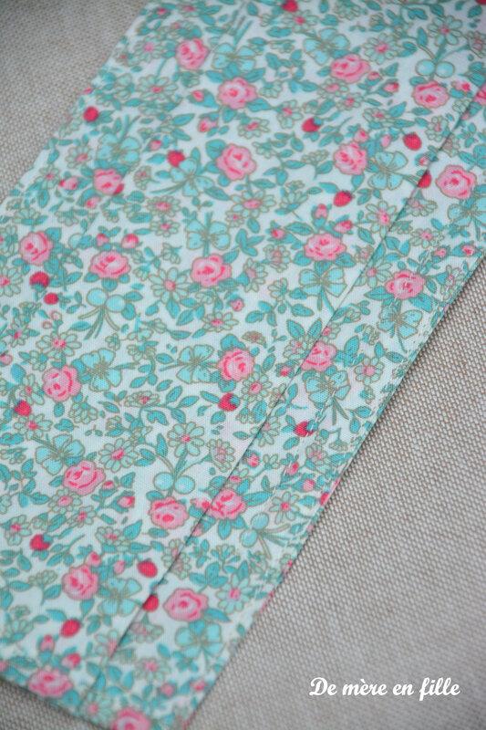 fleuri rose et turquoise 2