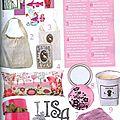 Marie-Claire Idées de Noel 2008 - page 7 - L'alphabet de Daisy en zinc et les couverts en zinc