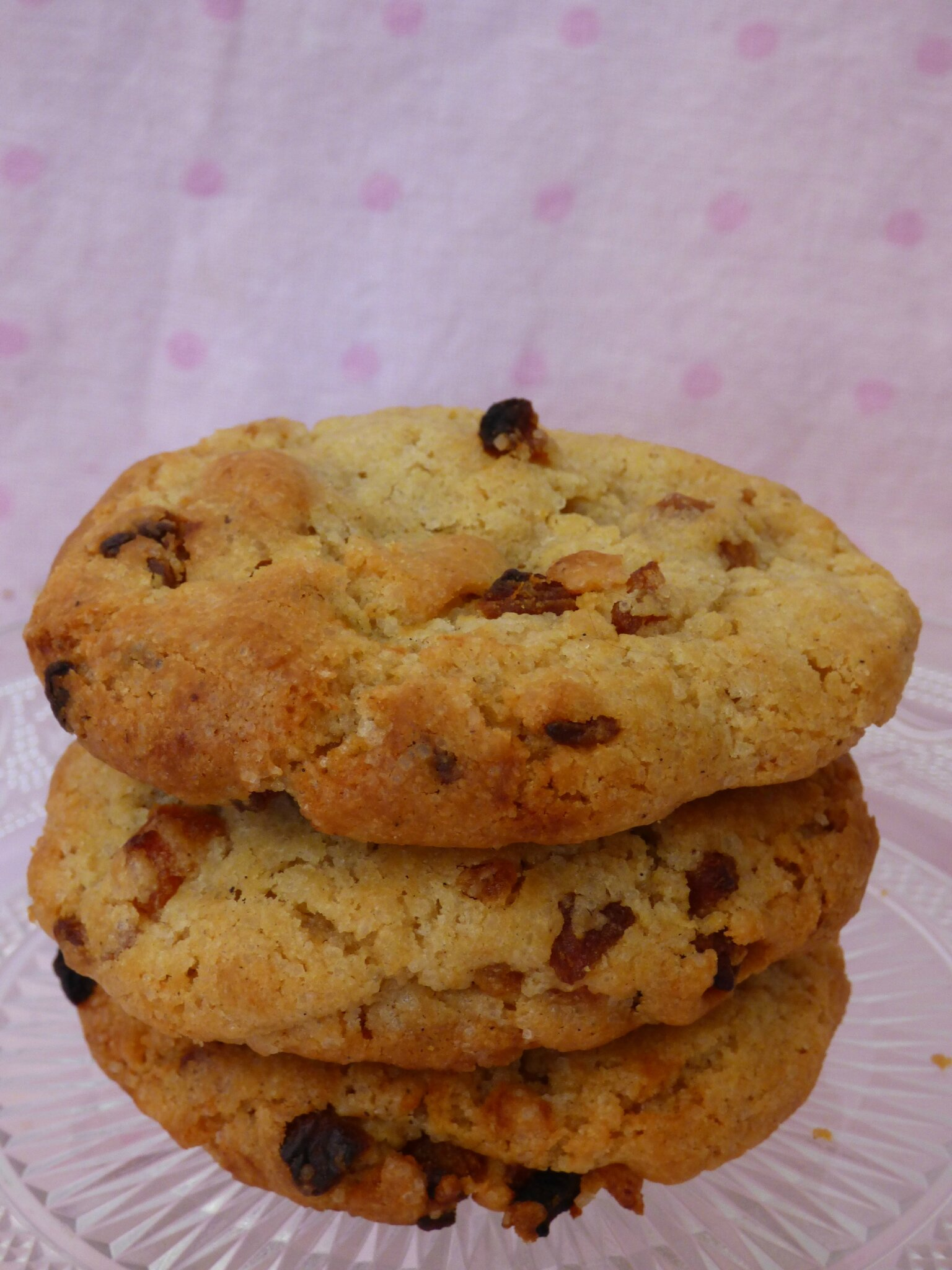 Cookies vanille/ abricots secs