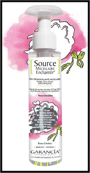 garancia source micellaire enchantee rose d antan