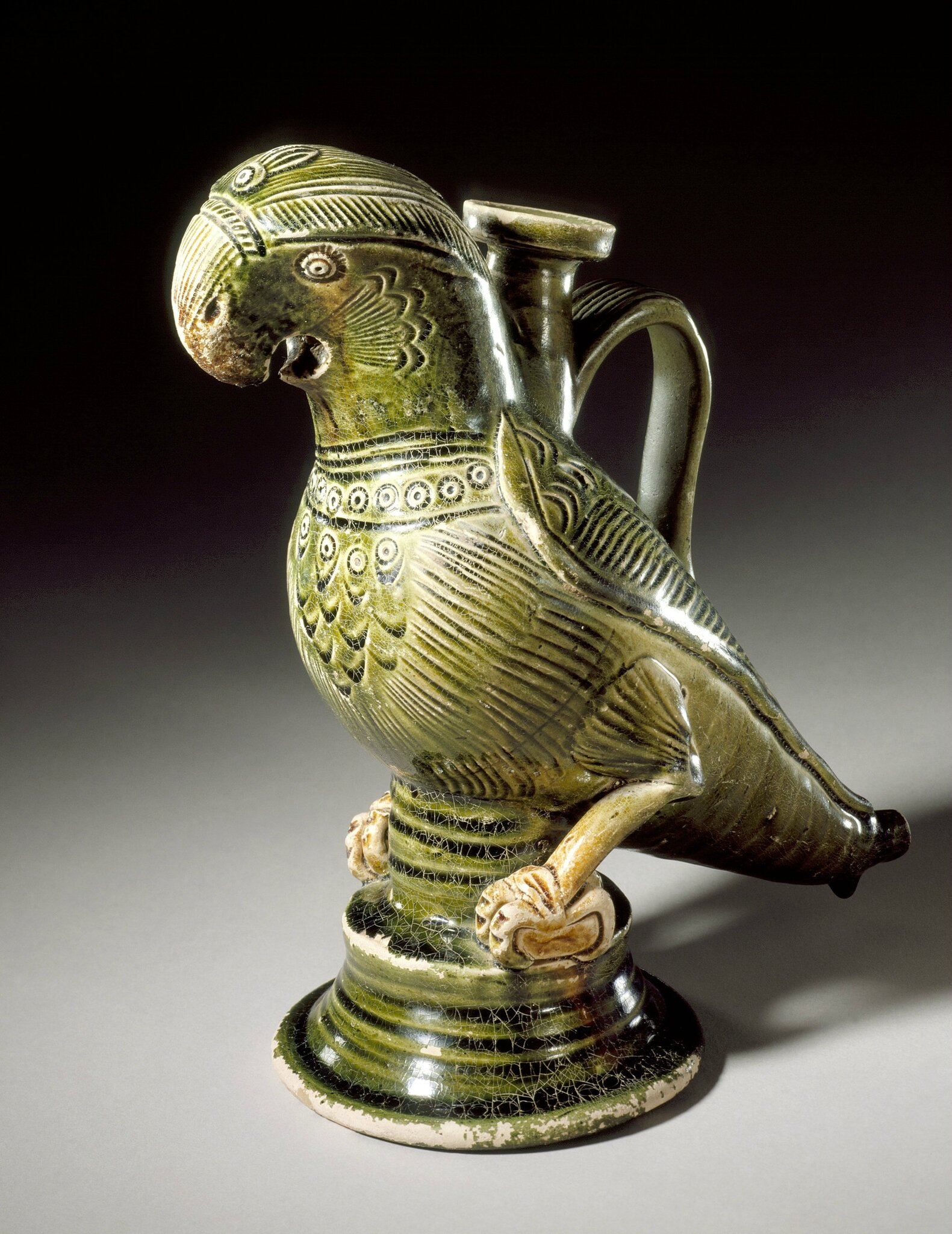 Ewer in the Form of a Parrot, China, probably Hebei Province, early Northern Song dynasty, about 960-1000