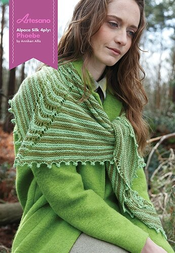 Alpaca Silk 4ply Phoebe Front Cover