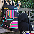 Le tote bag coloré original 100%made in france : une fabrication locale isamade.