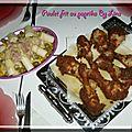 Poulet frit paprika de La cuisine de Lina
