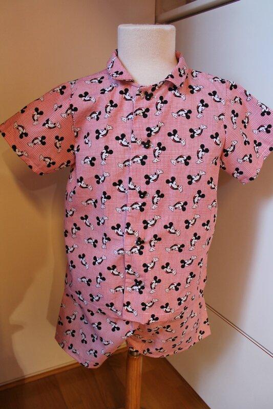 Pyjama court Marie N4