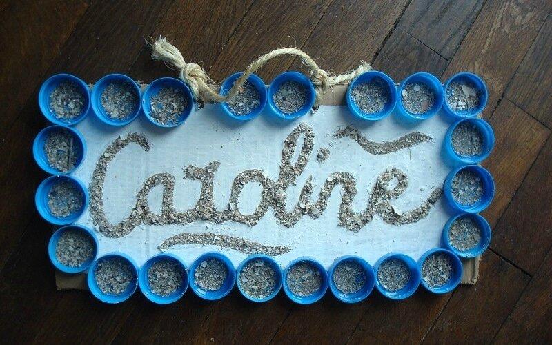 Caroline - Atelier artistique prénom 2