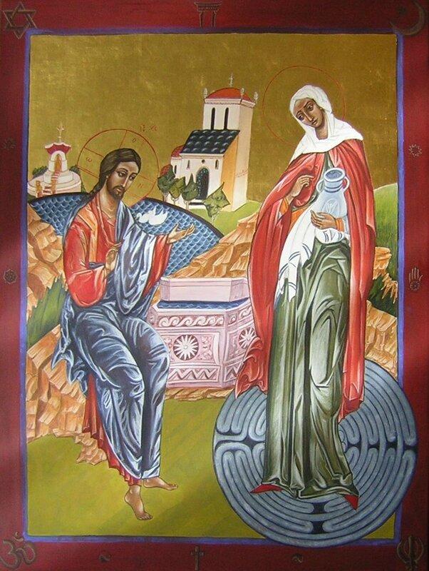 Jésus et la femme samaritaine