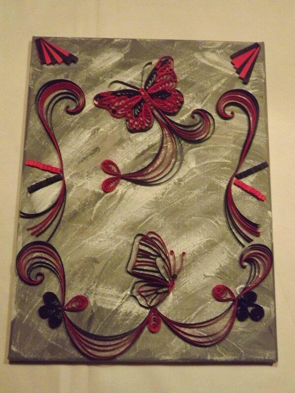toile papillon 2