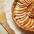 Délicieuse tarte aux pommes...