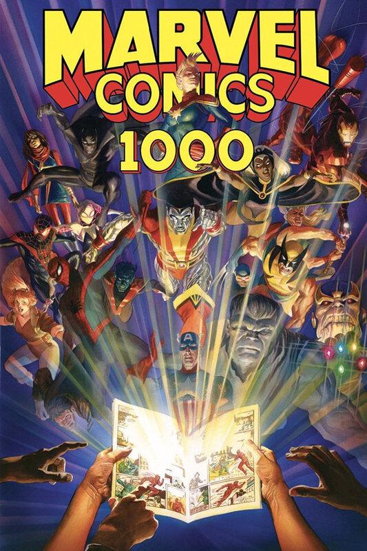 100% marvel comics 1000