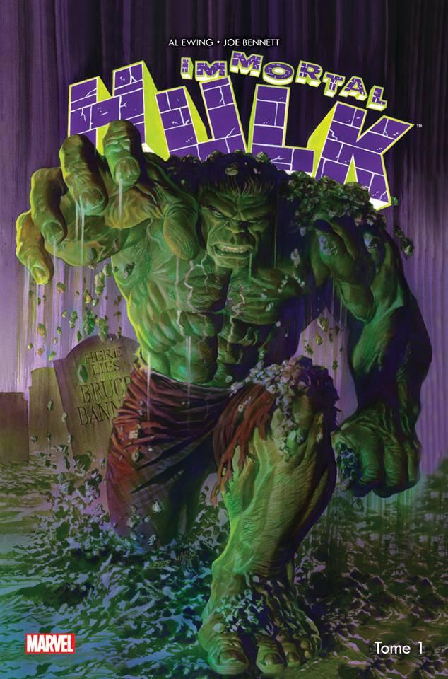 Panini 100% Marvel Immortal Hulk 1 par Al Ewing et Joe Bennett
