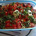 Salade rapide à préparer pendant les vacances d'été