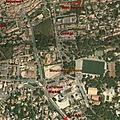 Situation google earth à lambesc