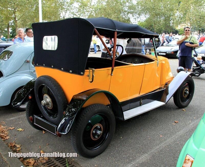 Renault type NN torpedo 4 places de 1927 (Retrorencard septembre 2013) 02