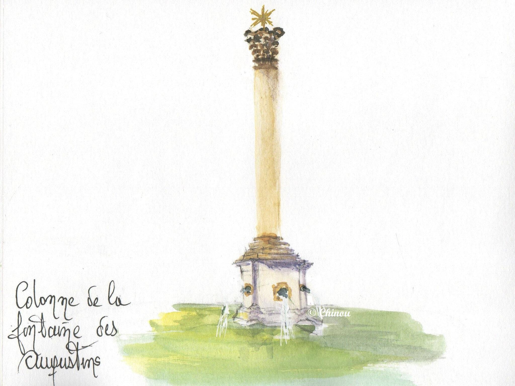 Fontaine des Augustins Aix en Provence