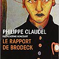 Le rapport de Brodeck de Philippe Claudel