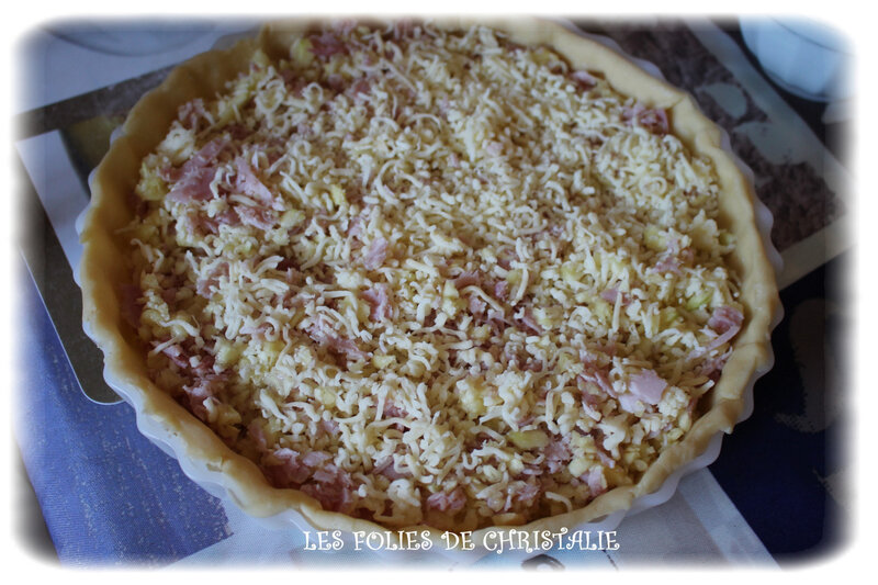 Quiche courgettes 3