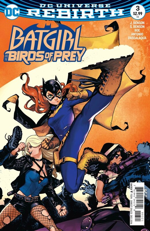 rebirth batgirl and the birds of prey 03 variant