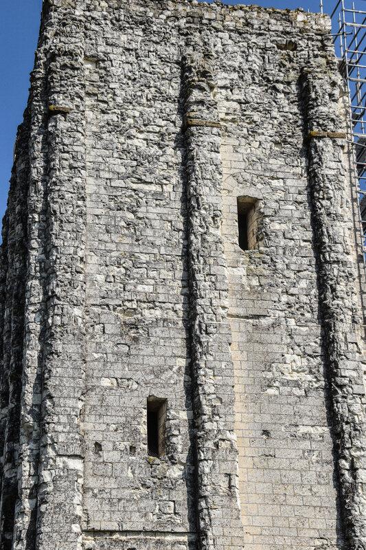 Foulques Nerra La Tour-Carrée ou petit donjon oriental du château féodal de Loudun, encore debout,