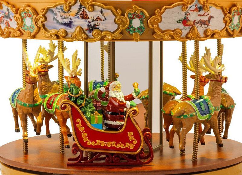 Carrousel musical miniature.