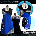 Robe Asymétrique made in france ISAmade