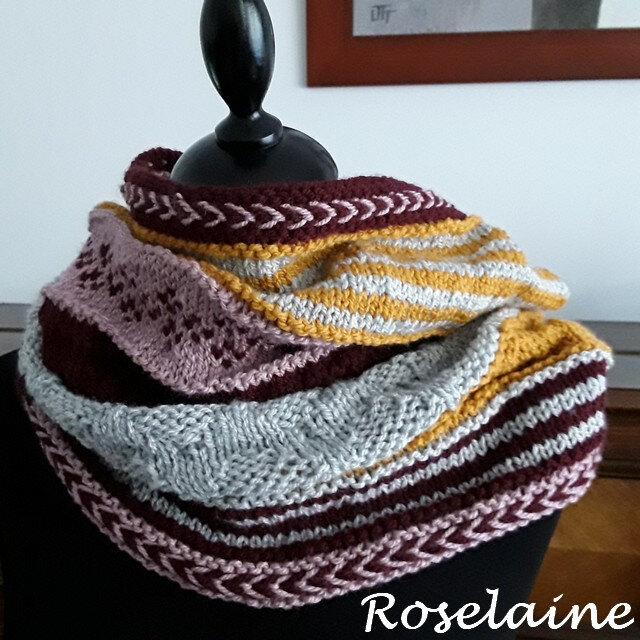 Roselaine GAME CHANGER COWL by Marly Bird 3