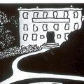 Livre : l'ombre des forêts de jean-pierre martinet - 1987
