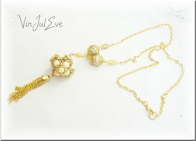 collier sabac jaune or 2