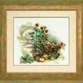 Lanarte - Wheelbarrow and sunflowers