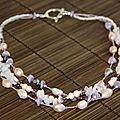 Perles et cie : parrure en perles d'eau douce
