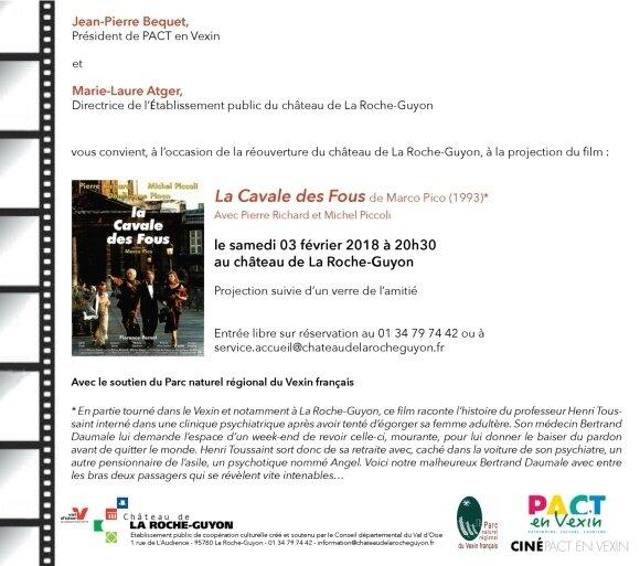 Invitation Ciné pact en Vexin