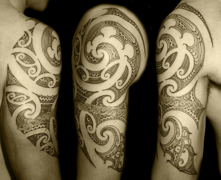 tatouage-tribal-polynesien-maori