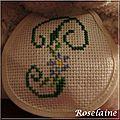 Roselaine010 Doudou brodé