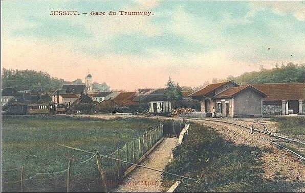 jussey gare des tramways 70