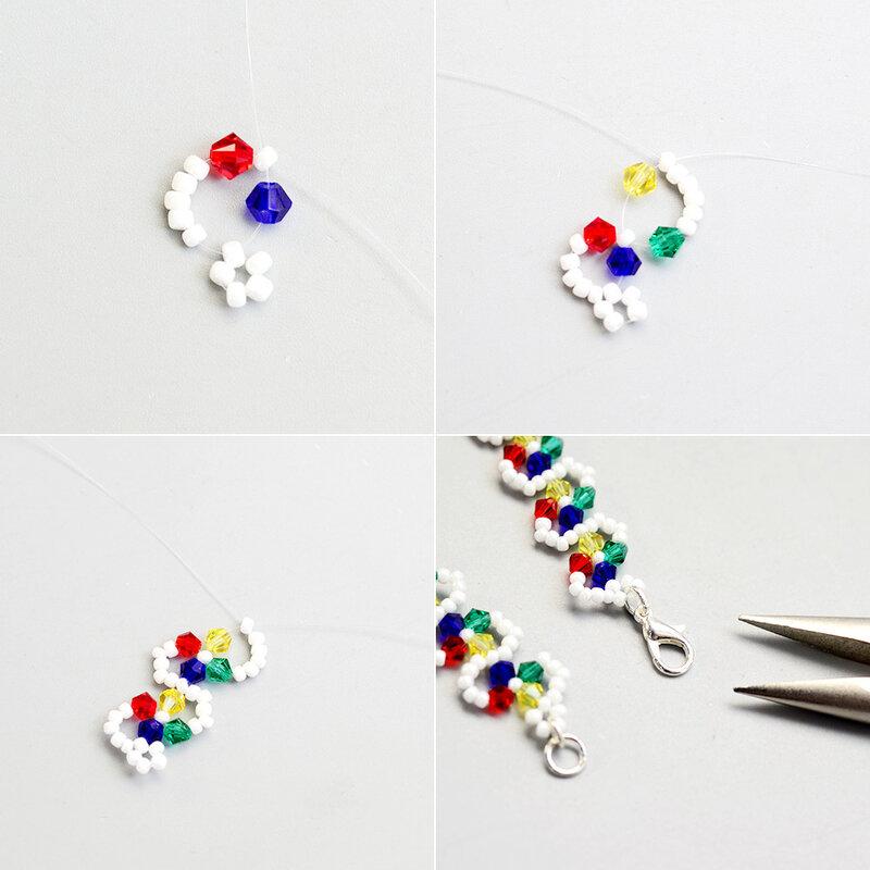 PandaHall-Tutorial-on-Crystal-Seed-Beads-Bracelet-2
