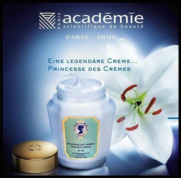 Princesse Des Crèmes Académie Scientifique De Beauté Le
