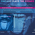 Chicago plays the stones...