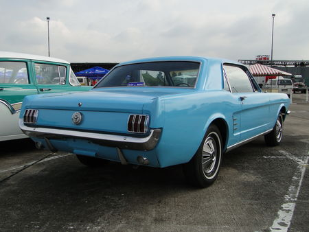 FORD Mustang Hardtop Coupe 1966 Motoren und Power Lahr 2010 2